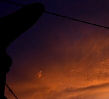 trying to get sunset by rizalnurbilad