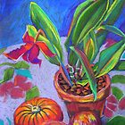 Still Life with Passionfruit by marlene veronique holdsworth