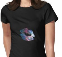 Space Lipstick Womens Fitted T-Shirt