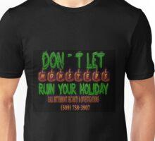 Halloween Security Scribbles Unisex T-Shirt