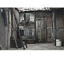 poverty is no crime Photographic Print