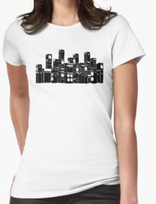 Stacked Womens Fitted T-Shirt