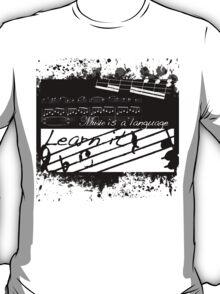 Music is a Language T-Shirt