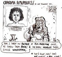 Grandma remembers. by mattycarpets