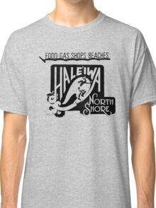 North Shore Traffic Sign MAN BLK Classic T-Shirt