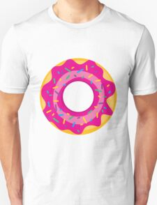 Donut with Pink Icing and Rainbow Sprinkles T-Shirt
