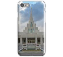 Phoenix LDS Temple Cloudy Day iPhone Case/Skin