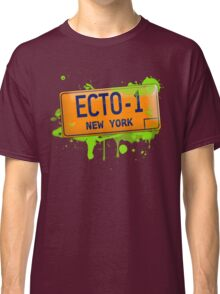 Ghostbusters ecto-1 license plate Classic T-Shirt
