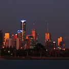 Melbourne City Skyline by 104paul