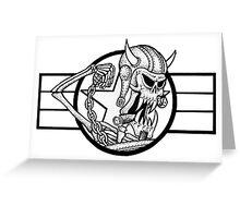 Mutant Skater Meatball Greeting Card