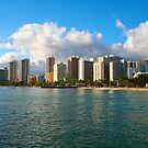 Waikiki Beach, Honolulu OAHU by Atanas Bozhikov NASKO