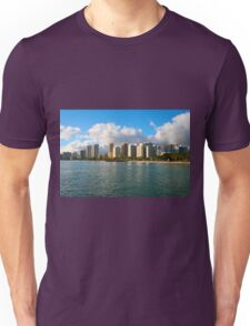 Waikiki Beach, Honolulu OAHU Unisex T-Shirt