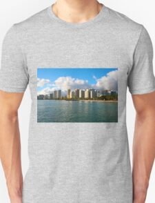 Waikiki Beach, Honolulu OAHU Unisex T-Shirt