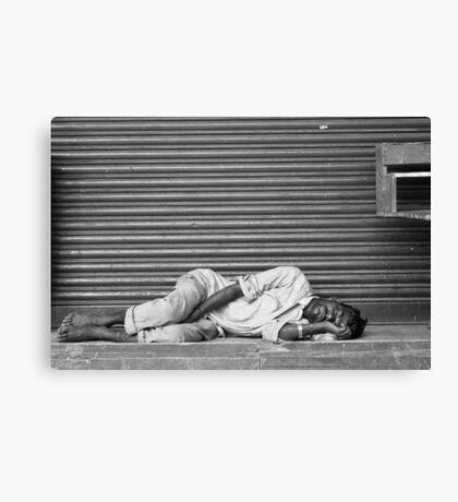 sleeping like a baby Canvas Print