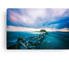 Lighthouse Sunset Canvas Print