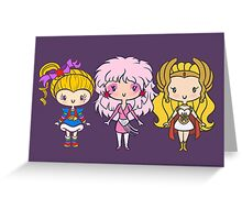 Lil' CutiEs - Eighties Ladies Greeting Card