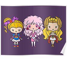 Lil' CutiEs - Eighties Ladies Poster