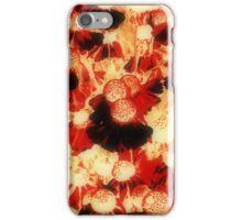 Orange Flower Patch iPhone Case/Skin