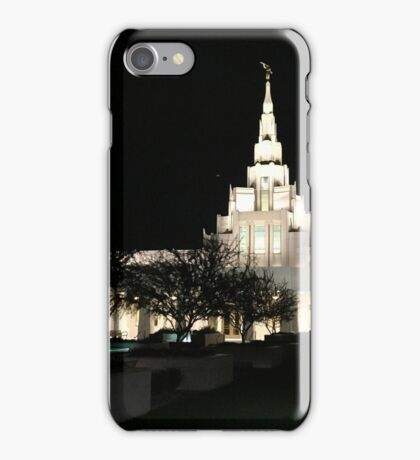 Phoenix LDS Temple Storm iPhone Case/Skin