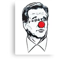 Goodell Clown Canvas Print