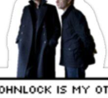 Johnlock OTP Sticker