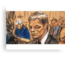 Brady Sketch Canvas Print