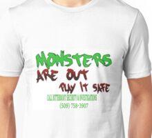 Halloween Security Paint Unisex T-Shirt