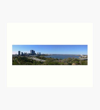 Perth panorama   Art Print