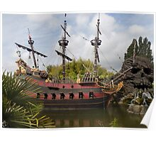 pirate ship Poster