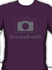 Mirrorless cameras – it's a small world T-Shirt