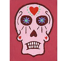 Day of the Dead in Pink Photographic Print