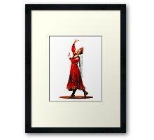 China Doll Framed Print