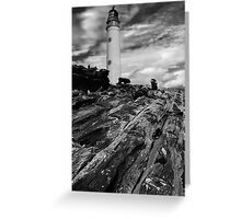 Driftwood to Lighthouse Greeting Card