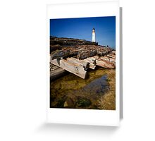 Branes Ness Lighthouse Greeting Card