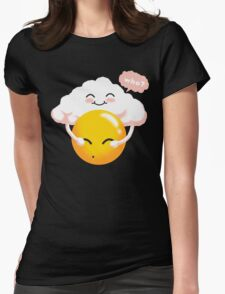Sunny Weather Womens Fitted T-Shirt