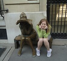 Paris - Street Sculpture by Vesna *