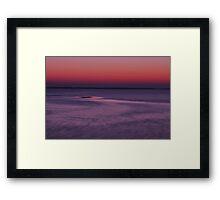 Sunrise from the Boca Grande Pier Framed Print