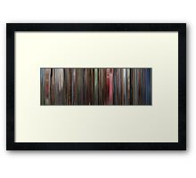 Moviebarcode: The Shining (1980) Framed Print