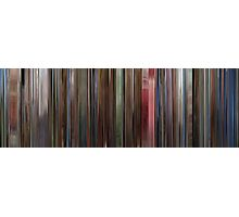 Moviebarcode: The Shining (1980) Photographic Print