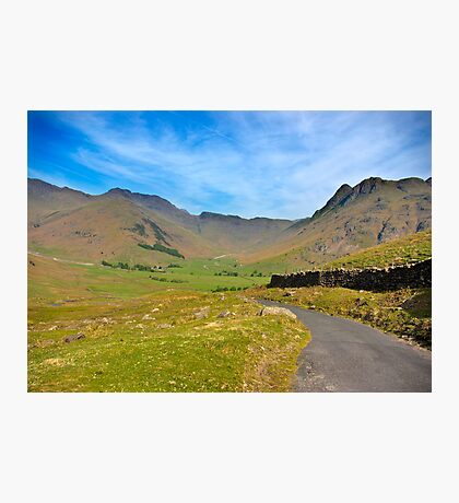 Mickleden Valley Road Photographic Print