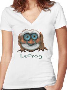 LeFrog 2011 Women's Fitted V-Neck T-Shirt