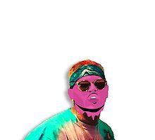 Chris Brown Slime  by Deannatheartist