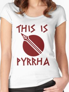THIS IS PYRRHA - RWBY  Women's Fitted Scoop T-Shirt