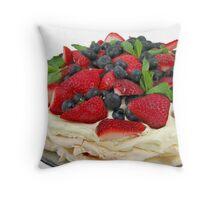 Berry Pavlova Throw Pillow