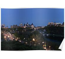 Nepean Point Lookout - Ottawa, Ontario Poster