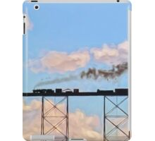 Choo Choo in the Clouds iPad Case/Skin