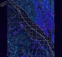 USGS Topo Map Oregon Jamieson 282613 1950 62500 Inverted by wetdryvac
