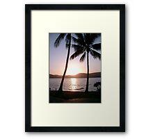 """""""Wish you were here"""" Framed Print"""
