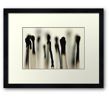 And she did 'Light my fire' but it wasn't everlasting.... Framed Print