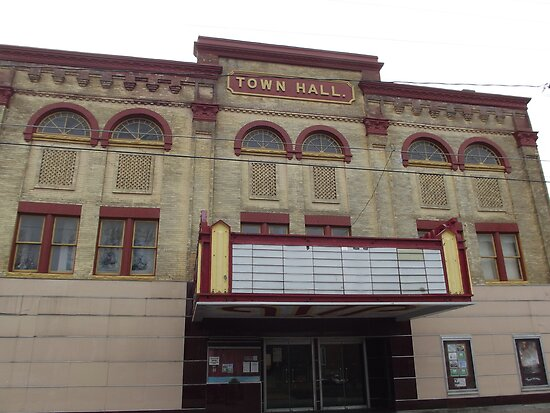 Town Hall Theatre by Nicole  Gokey